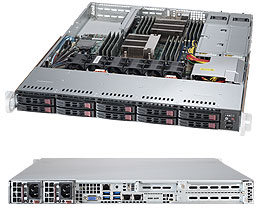 Сервер Supermicro 1028R-WC1RT