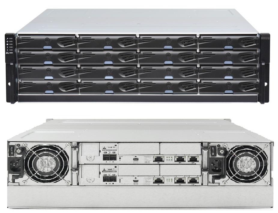 СХД Infortrend ESDS 4016 на 16 дисков
