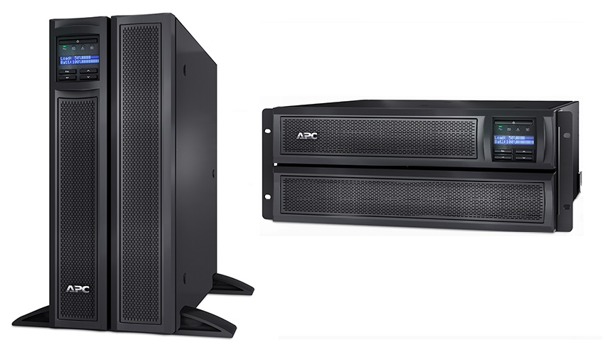 ИБП APC Smart-UPS  X 3000VA/2700W Tower/Rack 4U (SMX3000HV)