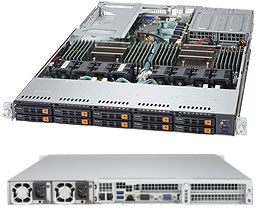 Сервер Supermicro 1028U-TN10RT+